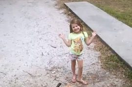 Why did John Nicholas Jonchuck Jr throw his five year old daughter off bridge?