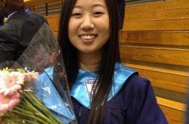 Rebecca Kim, Temple University student dies after landing on pedestrian, breaks her teeth.