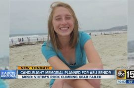 Katelyn Conrad plummets to her death while rappelling from Arizona cliff