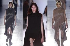 NSFW: Rick Owens men's fashion show. A few too many penises?
