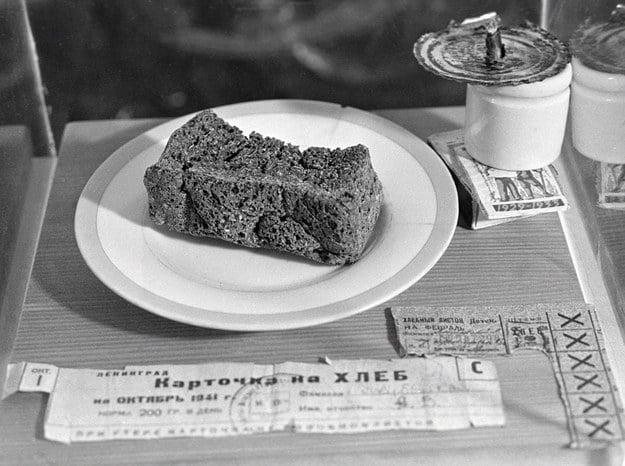 Leningrad Blockade diet