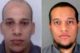 Hamyd Mourad surrenders. Said Kouachi, Cherif Kouachi in Rheims manhunt.