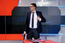 Why did Tarik Zahzah storm Dutch TV station NOS ? Anonymous hacker?
