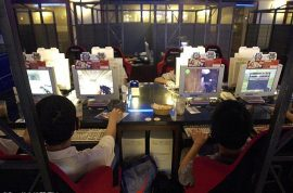 Taiwanese man dies after three day internet gaming binge. Employee thought he was sleeping.