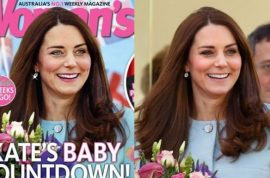 Kate Middleton Woman's Day magazine cover photoshop fail: 'Is that really me on the cover?'