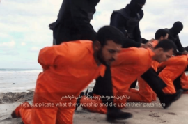 Video: ISIS beheads 21 Egyptian Christians in Libya.