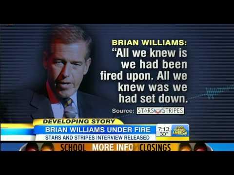 Brian Williams suspended