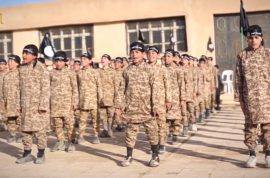 Next generation of ISIS video shows 5 year olds training learning how to kill