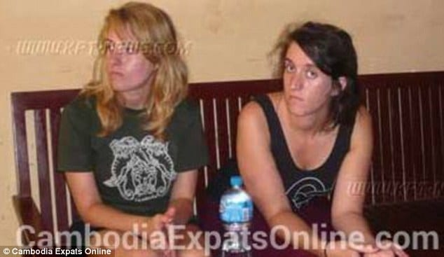 Two sisters arrested in Cambodia
