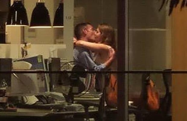 Christchurch office sex caught on camera from bar