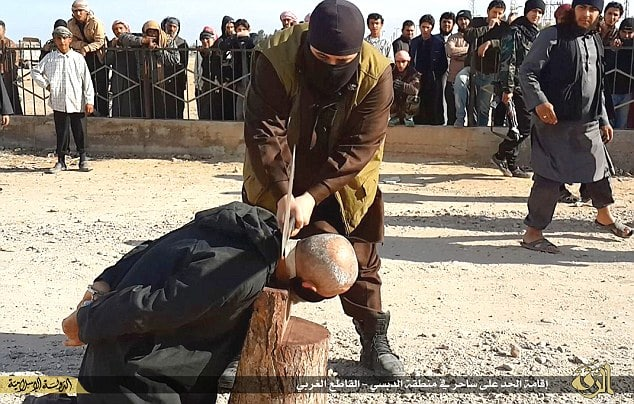 ISIS behead man for witchcraft
