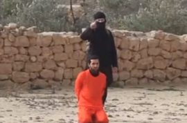 Video: ISIS execute Syrian prisoner shotgun point blank.