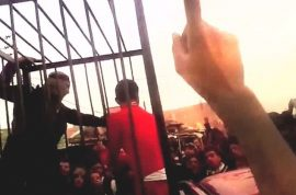 Video: ISIS parades 17 Kurdish fighters in cages. Promise to burn alive