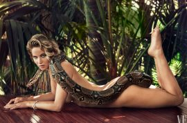 Jennifer Lawrence naked for Vanity Fair: Getting naked on her terms.