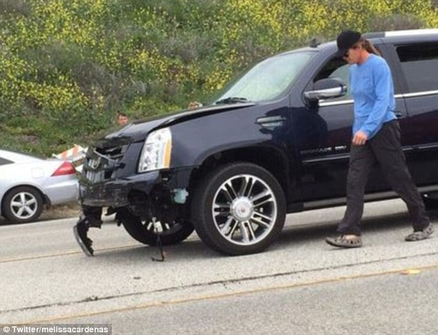 Bruce Jenner car accident