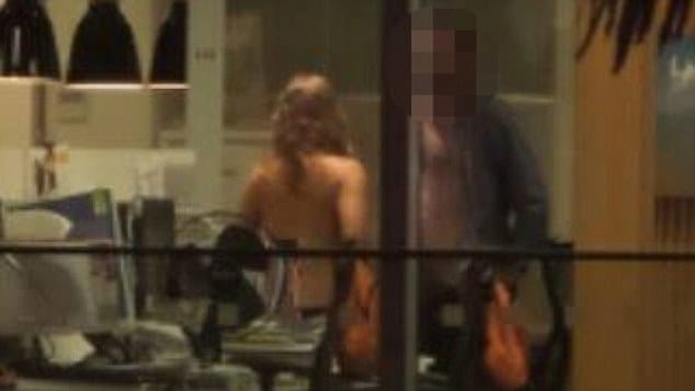 Christchurch office sex video
