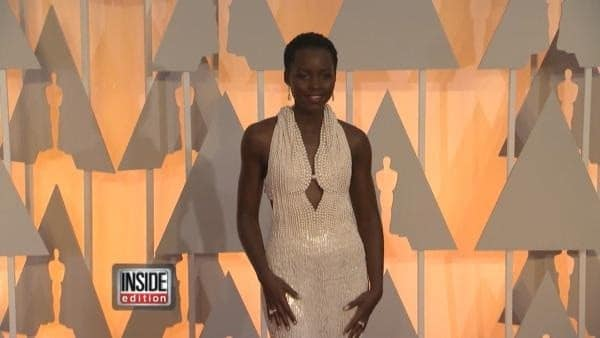 Lupita Nyong'o's $150K pearl Oscar dress stolen