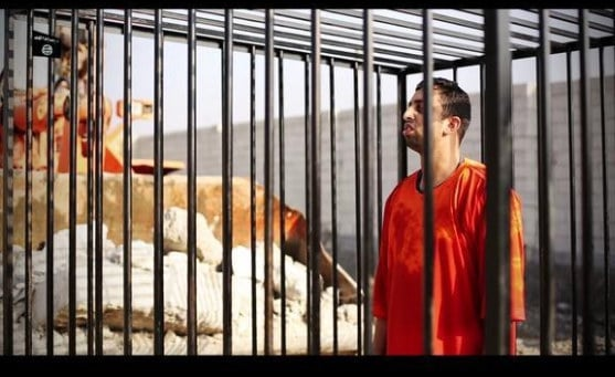 ISIS burns captured Jordanian pilot alive