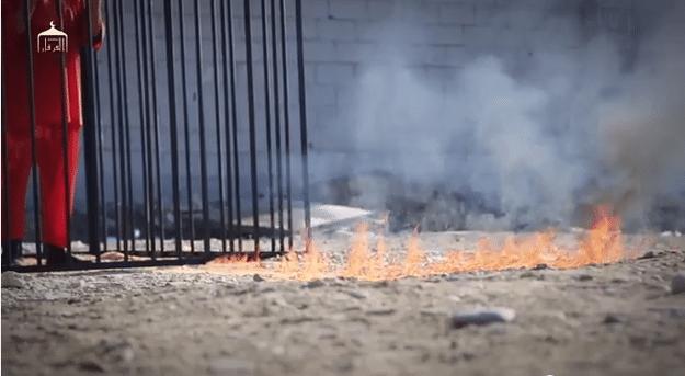 ISIS burns captured Jordanian pilot alive