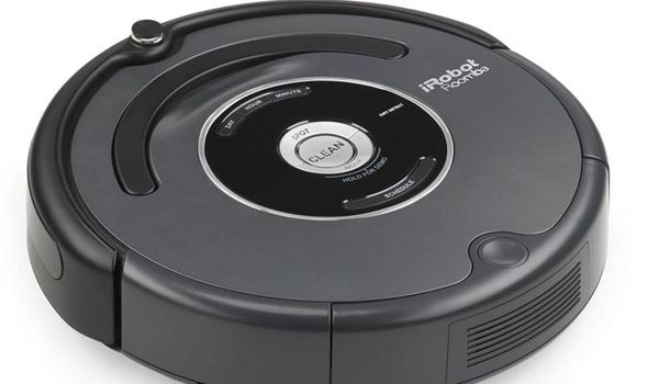 South Korean woman robot vacuum cleaner