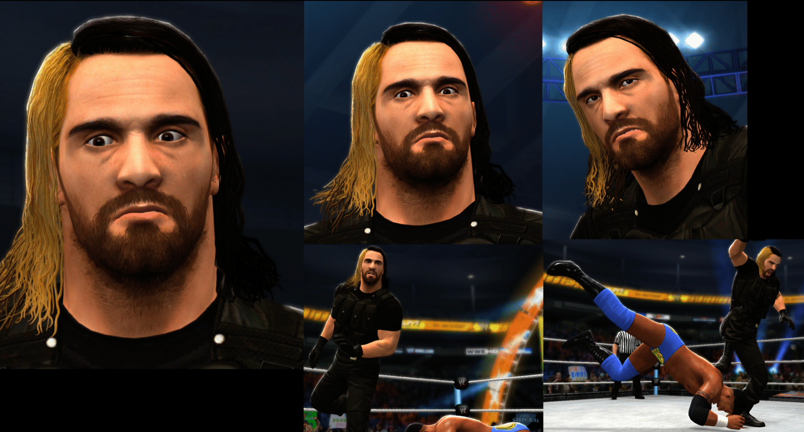 pictures seth rollins wwe star booed by twitter after