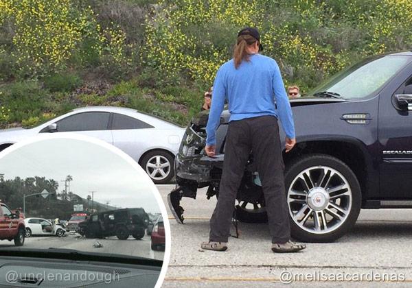 Bruce Jenner car accident