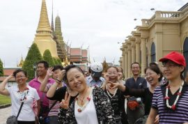 Thailand to China tourists: 'Don't defecate in public places and don't touch the paintings.'