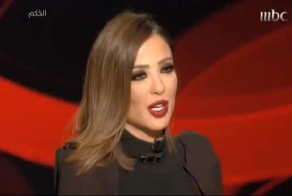 female Saudi TV presenter fired