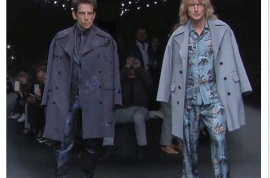 Zoolander 2: Ben Stiller and Owen Wilson walk in Valentino show video