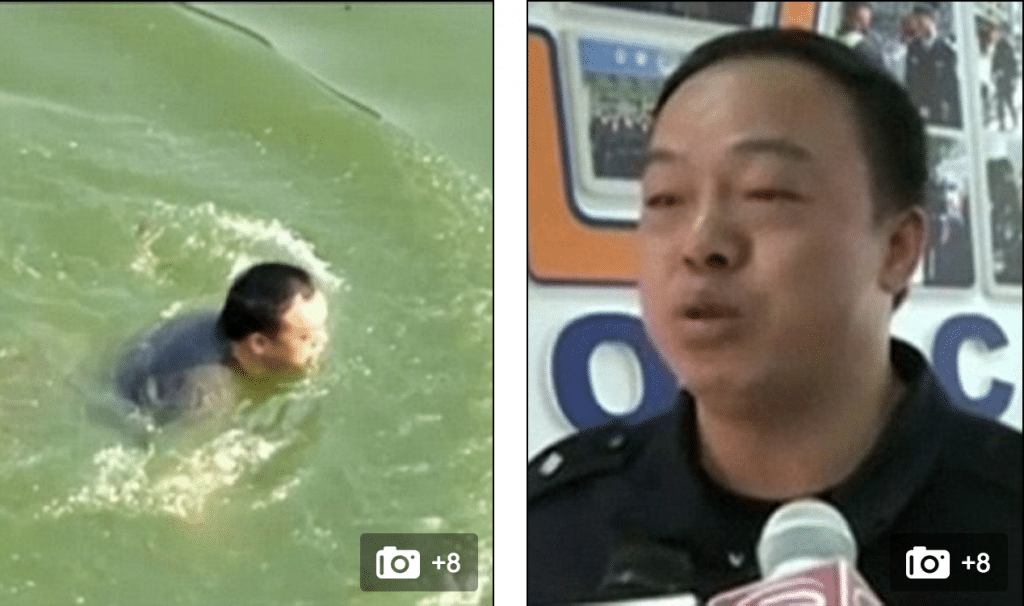 Chinese groom attempts suicide