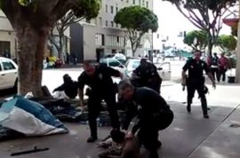 Were LAPD officers right to shoot homeless man dead?