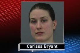 Oh really? Carissa Bryant, Marshalltown sixth grade teacher turns up drunk to class.