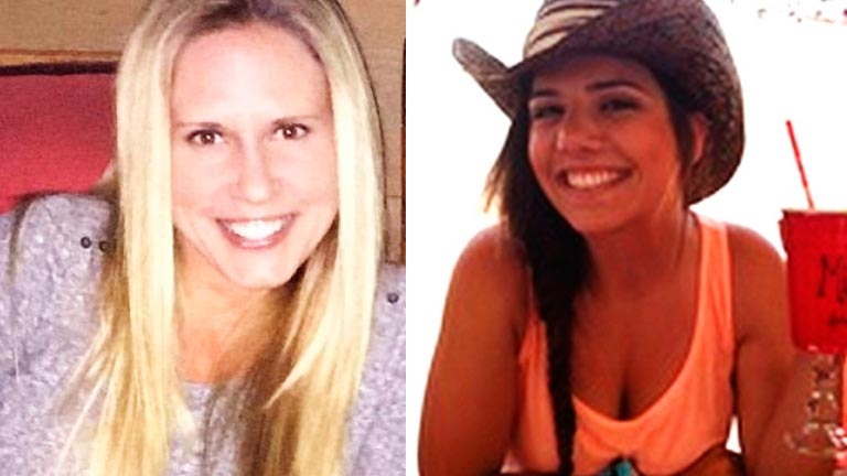 Melody Lippert and Michelle Ghirelli cocaine