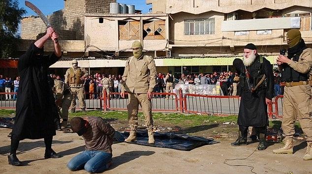 ISIS beheads three gay men