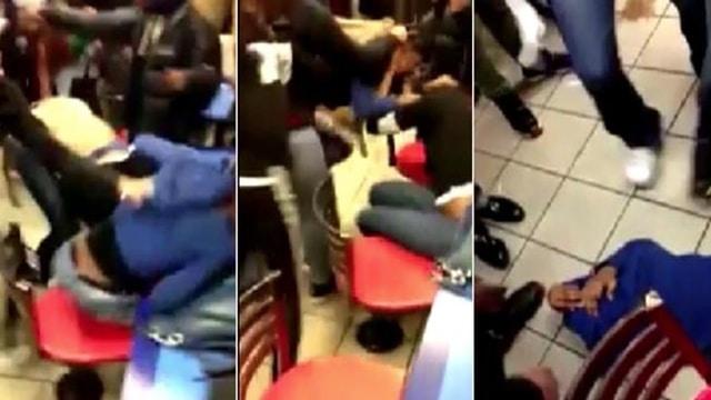 Brooklyn McDonald's brawl