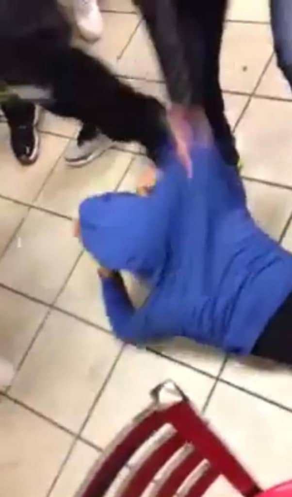 Brooklyn McDonald's brawl