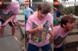 Video: Mystery Frat student bites head off hamster at Spring Break party
