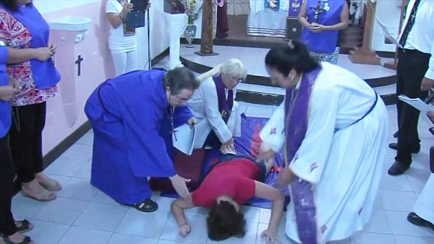 Argentinian woman exorcised