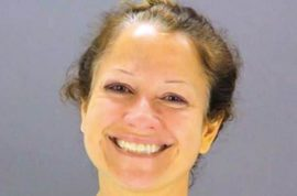 Suzanne Duarte Happy go lucky mugshot: I wish I burned down the whole yoga studio