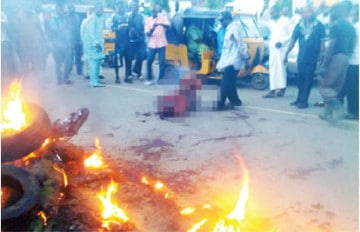 Nigerian teenage girl beaten to death