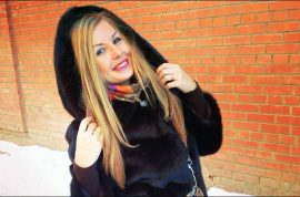 Tatyana Igonina, Russian graduate killed by icicle. Went dog walking.