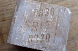 Bar of soap made from the fat of Jewish Holocaust victims removed from eBay
