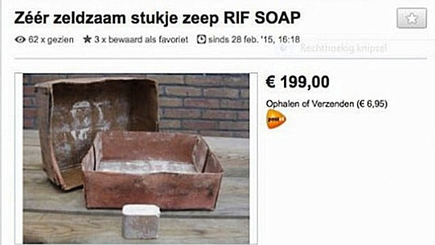 Dutch Police Probe Sale Of Soap Made From Holocaust Jews Bodies