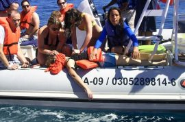 Jennifer Carren, Canadian tourist dies when whale lands on boat