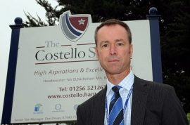 David Nicholson headteacher sent text message to prostitute asking her to wear schoolgirl uniform