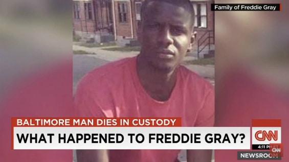 Freddie Gray broke his neck