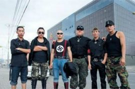 Mongolian neo Nazi terrorists are now assaulting Chinese tourists.