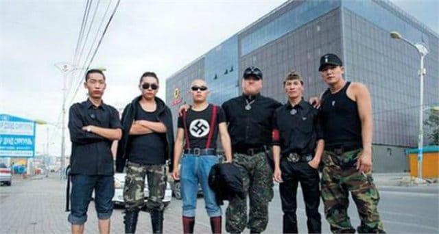Mongolian neo Nazi terrorists