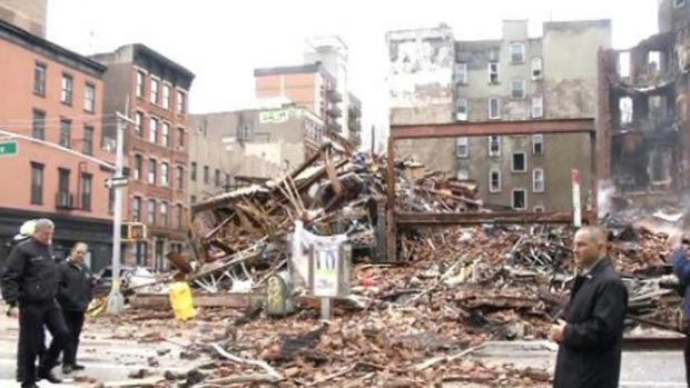 East Village Fundraiser gas explosion