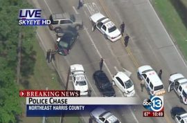 Video: Houston man, Frank 'Trey' Shephard shot dead on live TV during high speed car chase
